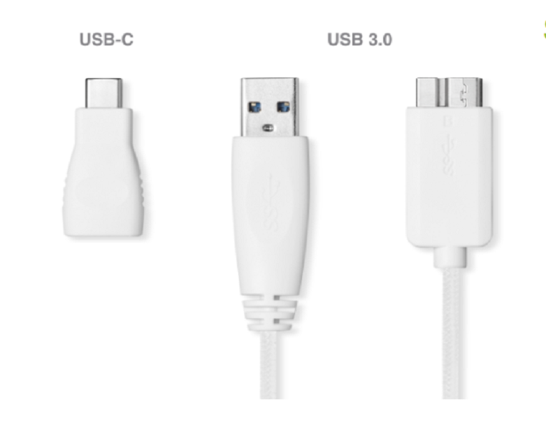 Ổ cứng gắn ngoài SSD Seagate Ultra Touch 500GB White (STJW500400) | Kết nối dễ dàng