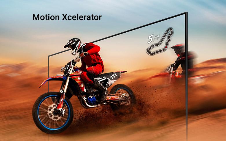 Smart Tivi Samsung 4K UHD 50 Inch UA50AU7000KXXV | Công nghệ Motion Xcelerator