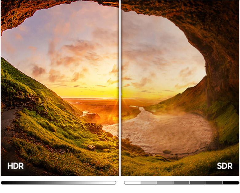 Smart Tivi Samsung 4K UHD 50 Inch UA50AU7000KXXV | Hình ảnh sắc nét với công nghệ HDR