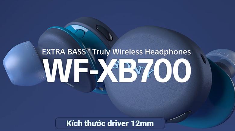 Tai Nghe Bluetooth Sony WF-XB700/LZ || kích thước driver 12mm