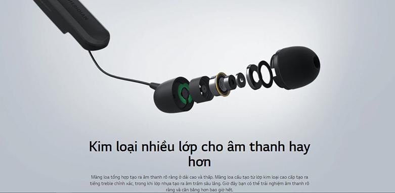 Tai Nghe Bluettooth LG HBS-XL7 (Đen) | chất lượng âm thanh hoàn hảo