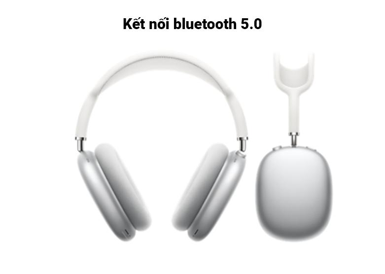 Tai nghe AirPods Max Silver (MGYJ3ZA/A) | Kết nối bluetooth 5.0