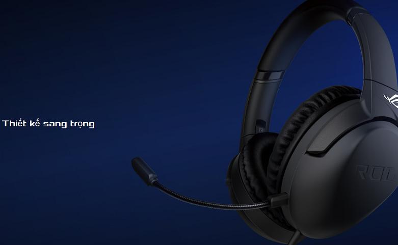 Tai nghe Asus ROG Strix Go Core (Đen) || Thiết kế sang trọng