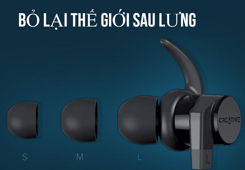 Tai nghe Bluetooth Creative Outlier Active V2 | Bỏ lại thế giớ sau lưng