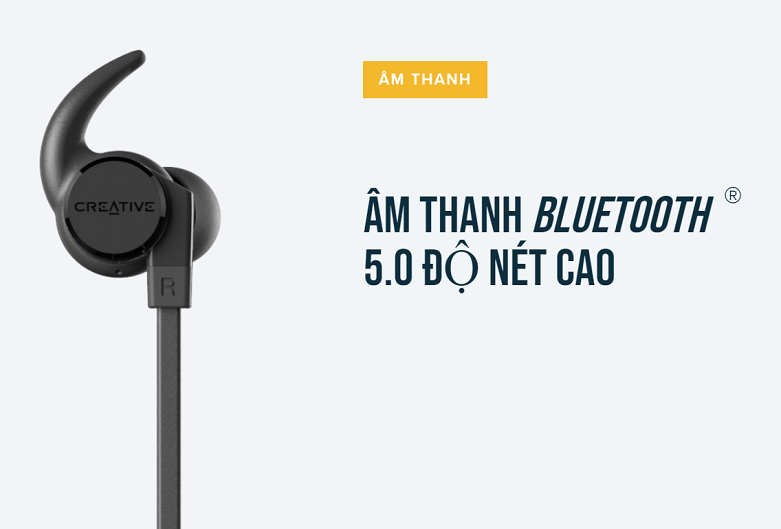 Tai nghe Bluetooth Creative Outlier Active V2 | Âm thanh Blutoot 5.0