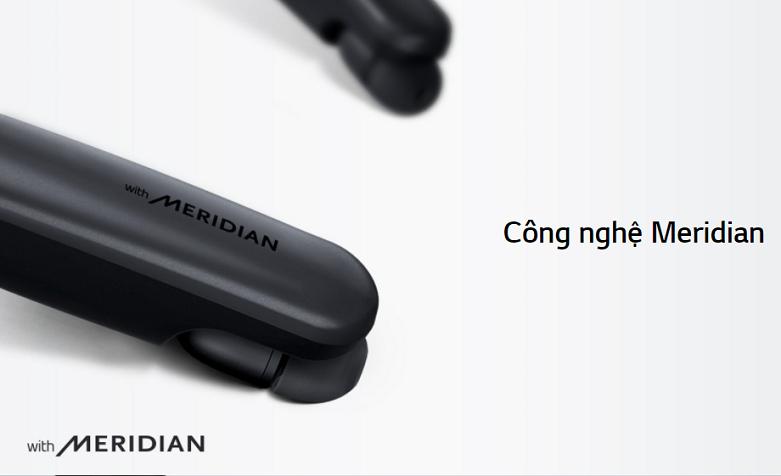 Tai nghe Bluetooth LG HBS-SL6S.ABVNBK | Công nghệ âm thanh Meridian