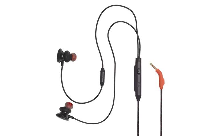 Tai nghe In-ear JBL Quantum 50 (Đen) | Thiết kế thời trang, tính tiện dụng cao