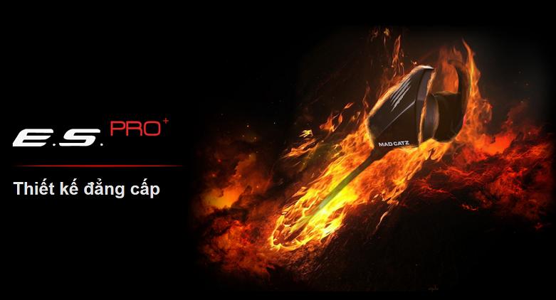 Tai nghe Madcatz E.S.Pro+ Gaming Earbuds (Đen) | Thiết kế đẳng cấp