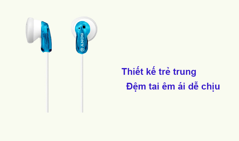 Tai nghe Sony MDR-E9LP/LZ1E | Thiết kế trẻ trung