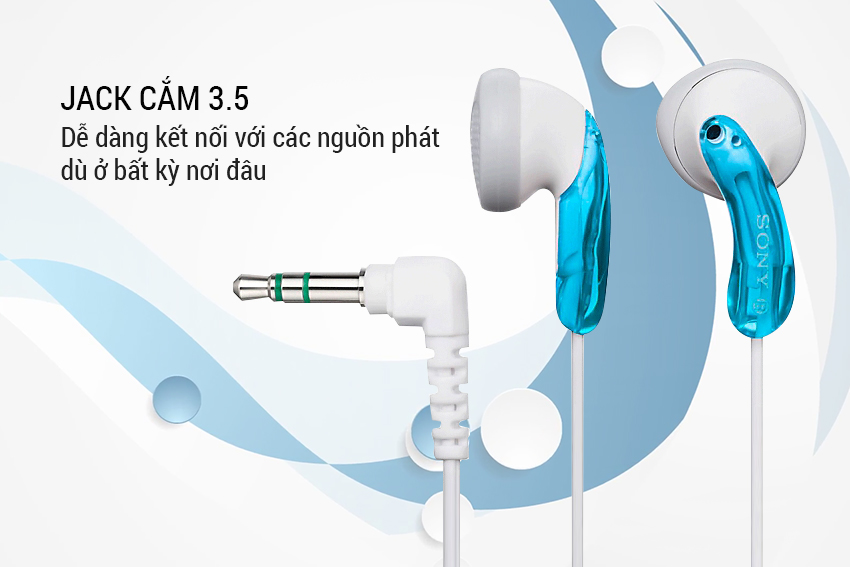 Tai nghe Sony MDR-E9LP/LZ1E | Jack cắm 3.5