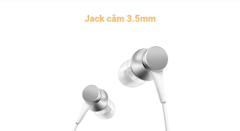 Tai nghe Xiaomi Mi Basic (Bạc) || jack cắm 3.5 mm