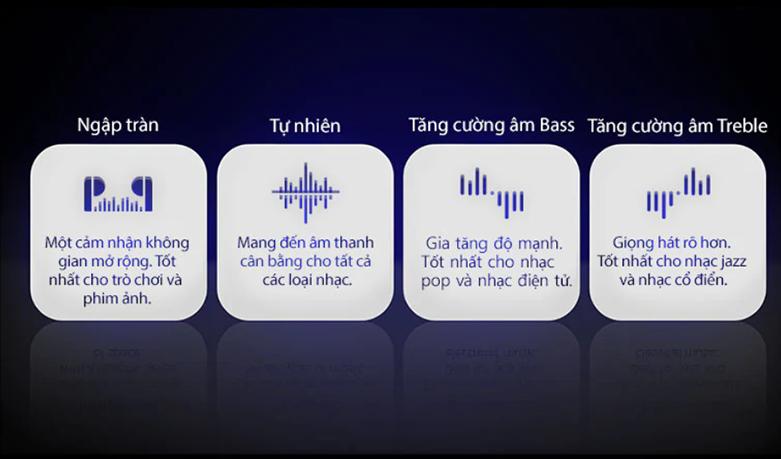 Tai Nghe Bluetooth LG HBS-FN6 (Đen)   chế độ EQ tùy chỉnh