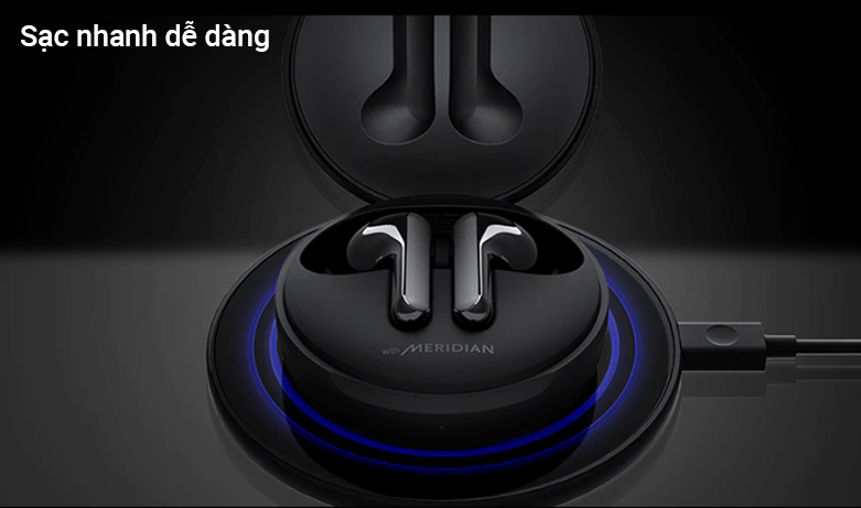 Tai Nghe Bluetooth LG HBS-FN6 (Đen)   sạc nhanh 5 phút