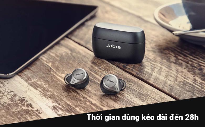 Tai nghe Bluetooth Jabra Elite 75t (Titanum Black) | chống nước và bụi IP55
