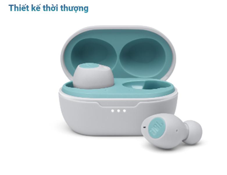 Tai nghe không dây True Wireless JBL Tune T115TWS (Xanh) | Thiết kế thời thượng