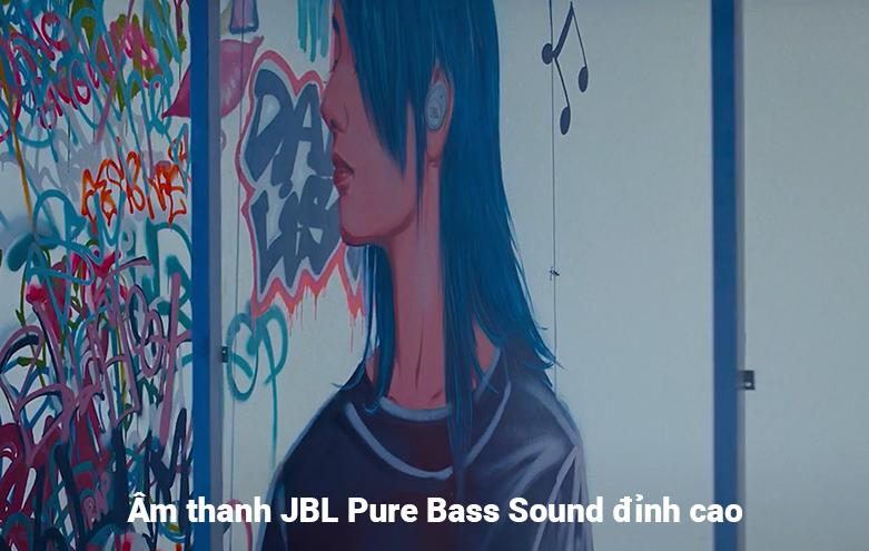 Tai nghe không dây True Wireless JBL Tune T115TWS (Xanh) | Âm thanh JBL