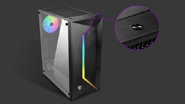 Case MSI MAG VAMPIRIC 100R | phần mềm Insta-Light Loop