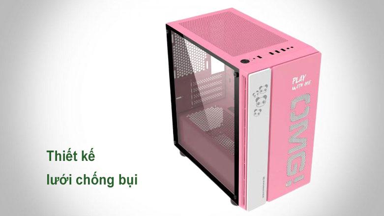 Case Xigmatek OMG Queen EN45631 (No Fan) | Thiết kế lưới chống bụi