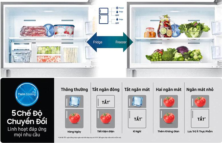Tủ lạnh Samsung Inverter 300 lít RT29K5532BU/SVtraffic lights | Công nghệ làm lạnh nhanh