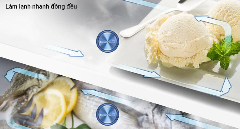 Tủ lạnh Samsung Inverter 300 lít RT29K5532BU/SVtraffic lights | Làm lạnh đồng đều
