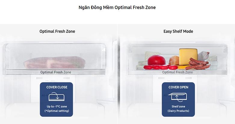 Tủ lạnh Samsung Inverter 256 lít RT25M4032BY/SV | Ngăn mềm hiện đại