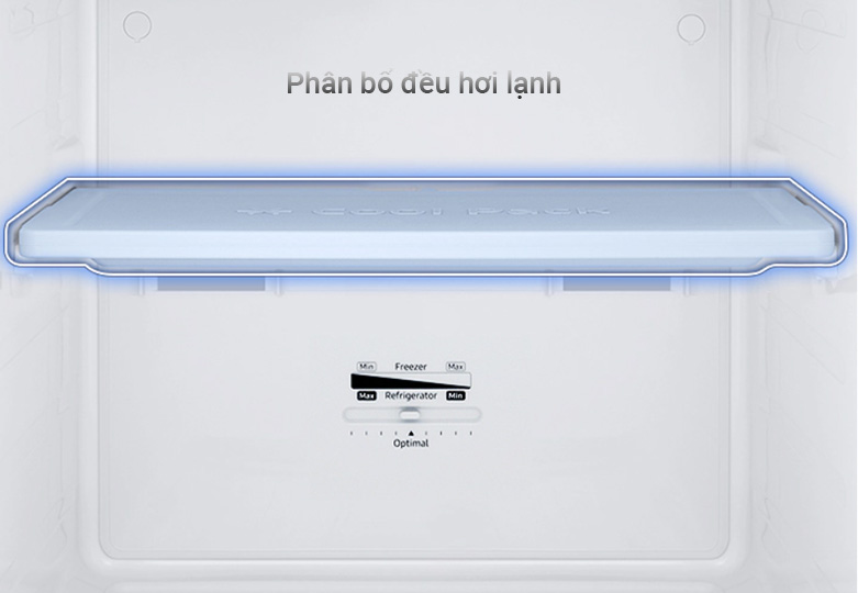 Tủ lạnh Samsung Inverter 256 lít RT25M4032BY/SV | Phân bố đều hơi lạnh