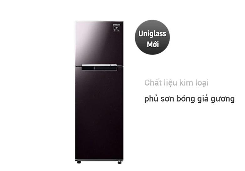 Tủ lạnh Samsung Inverter 256 lít RT25M4032BY/SV | Chất liệu kim loại cao cấp