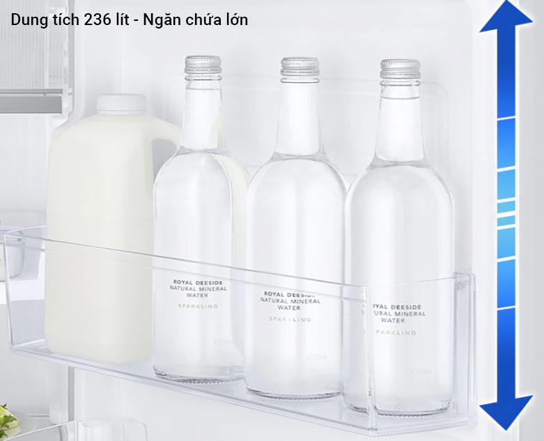 Tủ lạnh Samsung Inverter RT22M4032BU/SV| Ngăn chứa lớn
