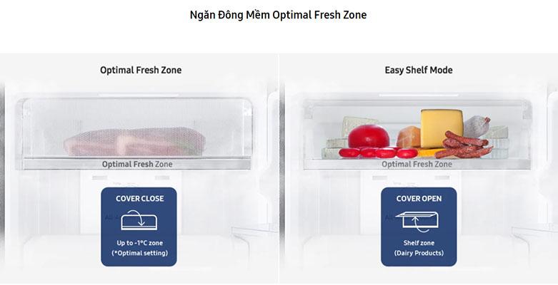 Tủ lạnh Samsung Inverter RT22M4032BU/SV | Ngăn đông mềm