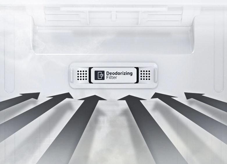 Tủ lạnh Samsung Inverter RT22M4032BU/SV | Xử lý vi khuẩn