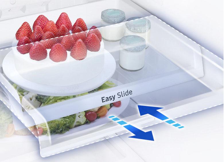 Tủ lạnh Samsung Inverter RT22M4032BU/SV | Ngăn chứa thực phẩm hữu cơ