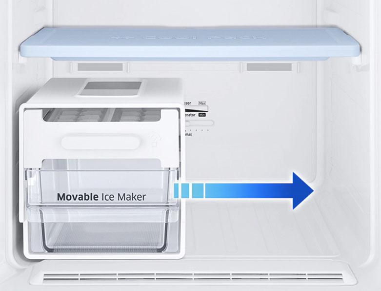 Tủ lạnh Samsung Inverter RT22M4032BU/SV | Khay đá tiện ích