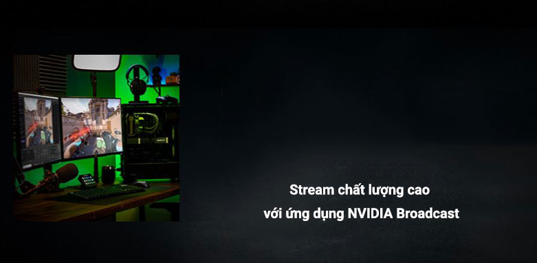 VGA ASUS ROG Strix GeForce RTX 3060 12G | NVIDIA Broadcast