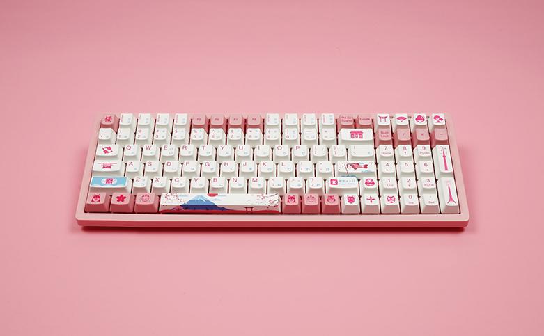 Bàn phím cơ Akko 3096 World Tour Tokyo R2 Pink Switch   Bàn phím layout 96 tối ưu