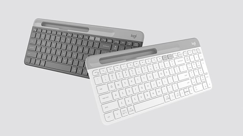 Bàn phím không dây Logitech K580 (Trắng) | Bàn phím fullsize