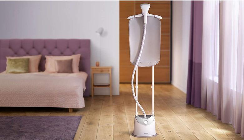 Bàn ủi hơi nước đứng Philips GC487 | Thiết kế dạng bàn đứng