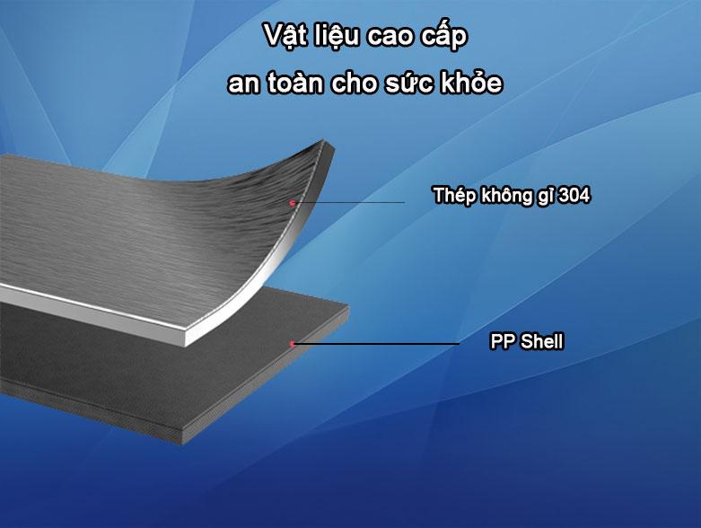 Bình đun nước giữ nhiệt Deerma DR035   Vật liệu cao cấp