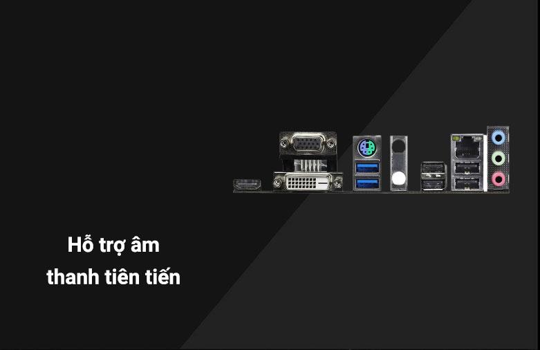 Mainboard Asrock H410M-HDV/M2 | Đa dạng cổng kết nối