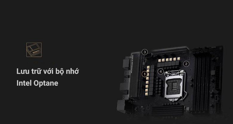 Mainboard Asus ProArt Z490-CREATOR 10G | Lưu trữ với bộ nhớ Intel Optane