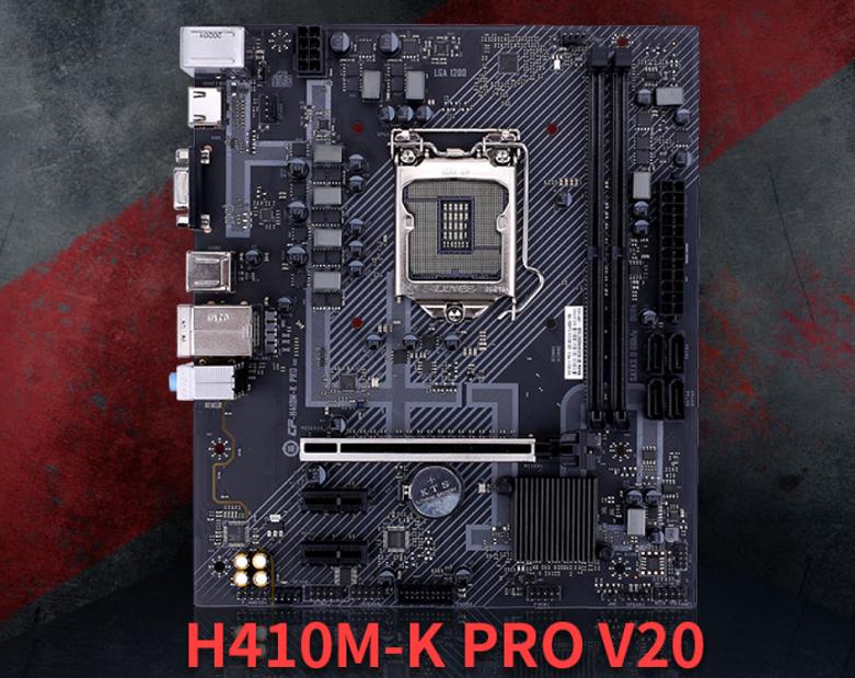Mainboard Colorful H410M-K PRO V20 | Nhỏ gọn với chuẩn mainboard Micro-ATX