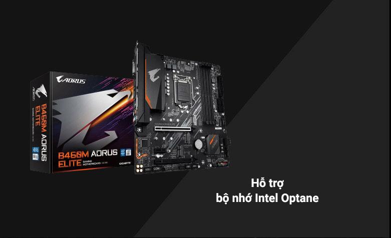 Mainboard Gigabyte B460M Aorus Elite | Hỗ trợ bộ nhớ Intel Optane