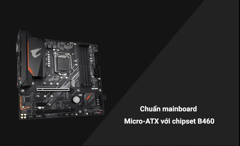 Mainboard Gigabyte B460M Aorus Elite | Chuẩn mainboard Micro-ATX