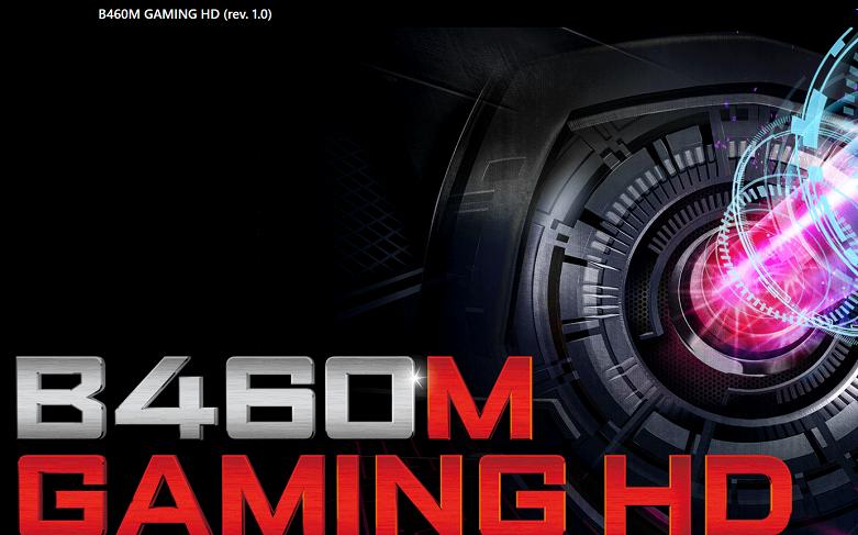 Mainboard Gigabyte B460M GAMING HD | Thiết kế nhỏ gọn với chuẩn mainboard Micro - ATX