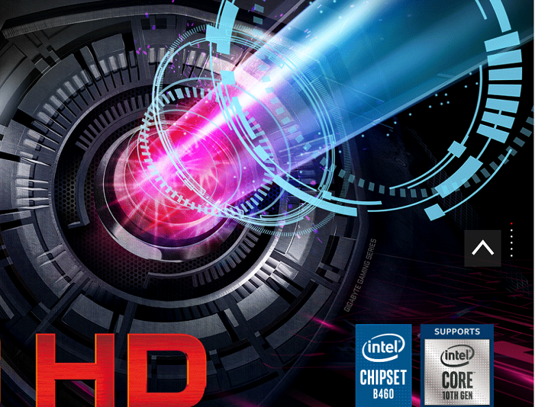 Mainboard Gigabyte B460M GAMING HD | Chuẩn socket 1200