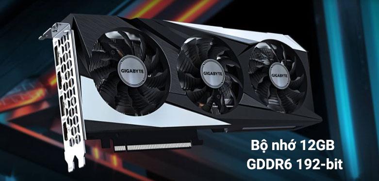 VGA Gigabyte GeForce RTX 3060 GAMING OC 12G | bộ nhớ 12GB GDDR6