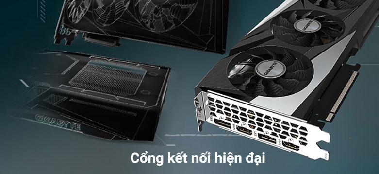 VGA Gigabyte GeForce RTX 3060 GAMING OC 12G | cổng kết nối hiện đại