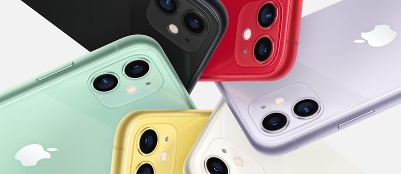 Điện Thoại Di Động iPhone 11 64GB (WHITE) (MHDC3VN/A) | Thiết kế hiện đại với màu sắc trẻ trung