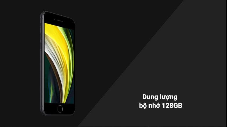 Điện Thoại Di Động iPhone SE BLACK 128GB (MHGT3VN/A) | dung lượng bộ nhớ 128GB