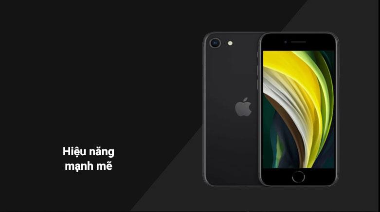 Điện Thoại Di Động iPhone SE BLACK 128GB (MHGT3VN/A) | Hiệu năng mạnh mẽ