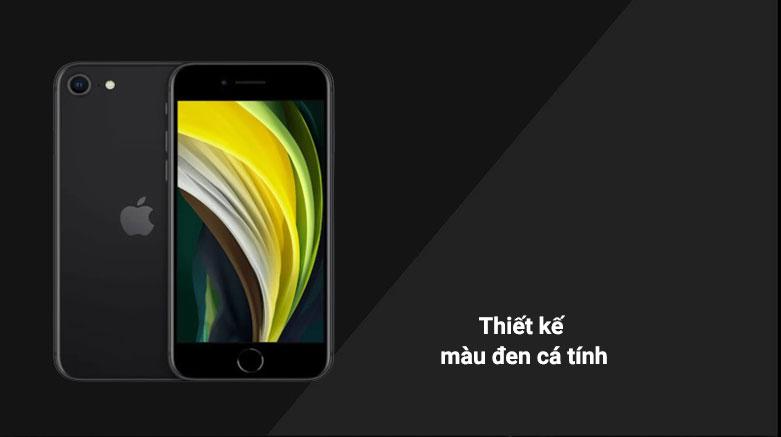 Điện Thoại Di Động iPhone SE BLACK 128GB (MHGT3VN/A) | Thiết kế màu đen cá tính